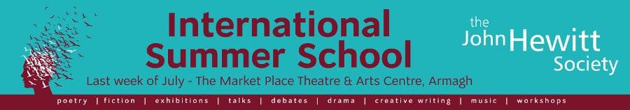 John Hewitt Summer School Banner 001